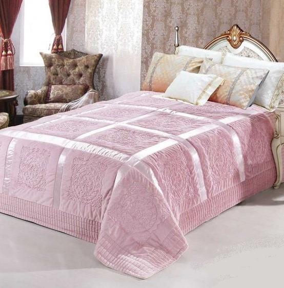 Плед-покрывало Розовая пудра